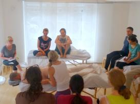 corsi di massaggio in aula